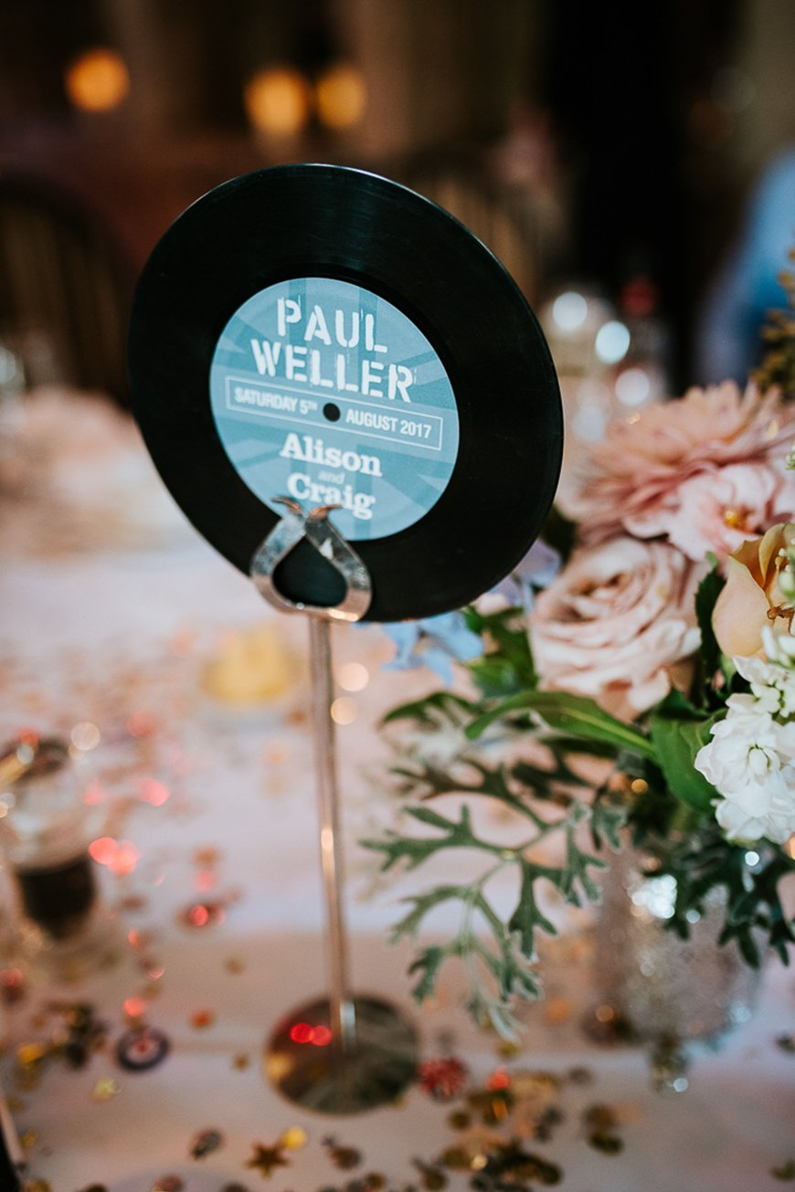 Top 5 Themes For Your Wedding Table Names - Your favourites | CHWV