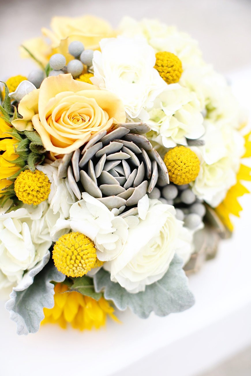 yellow and grey wedding bouquet grey wedding theme wedding ideas by colour chwv 1507