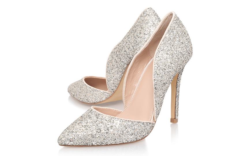 Metallic Wedding Shoes Wedding Ideas By Colour Chwv