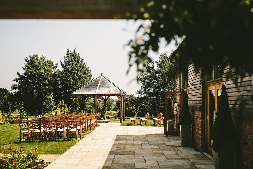 Seven Incredible Outdoor Wedding Venues - Mythe Barn | CHWV