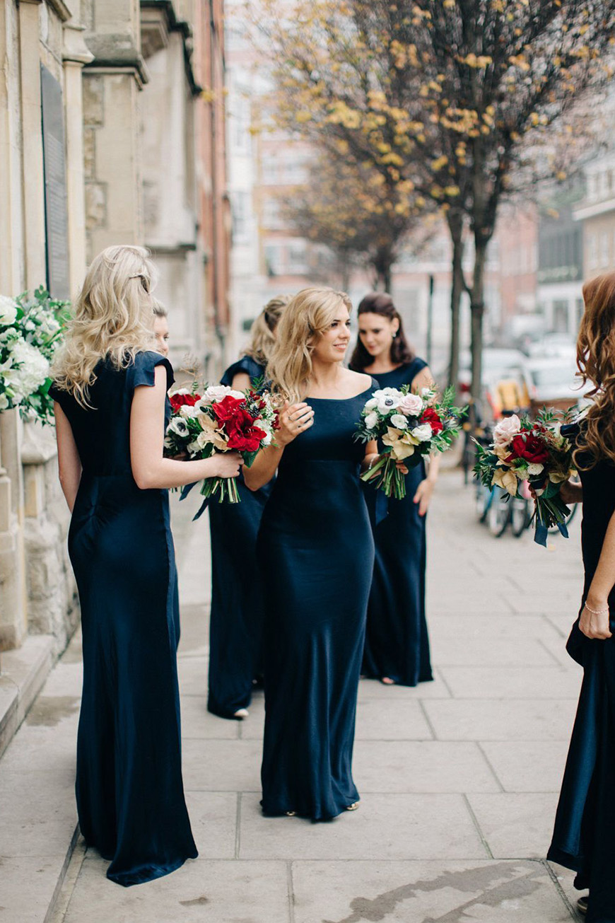 Wedding Ideas By Colour: Navy and Blush Wedding Theme - The entourage | CHWV