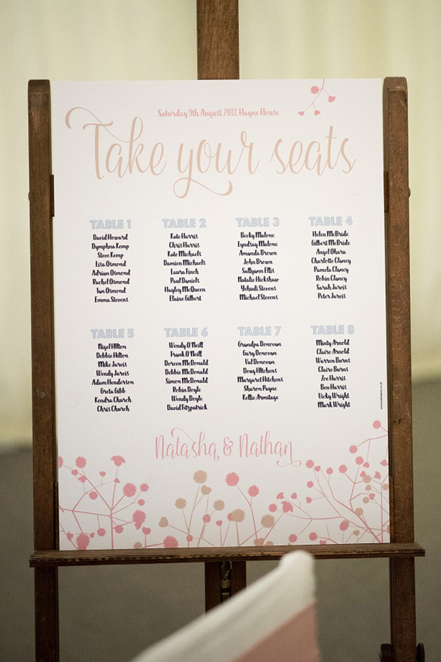 Wedding Ideas By Colour: Millennial Pink Wedding Theme - In print | CHWV