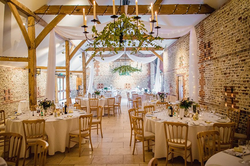 11 Barn Wedding Venues For A Summer Wedding - Upwaltham Barns | CHWV