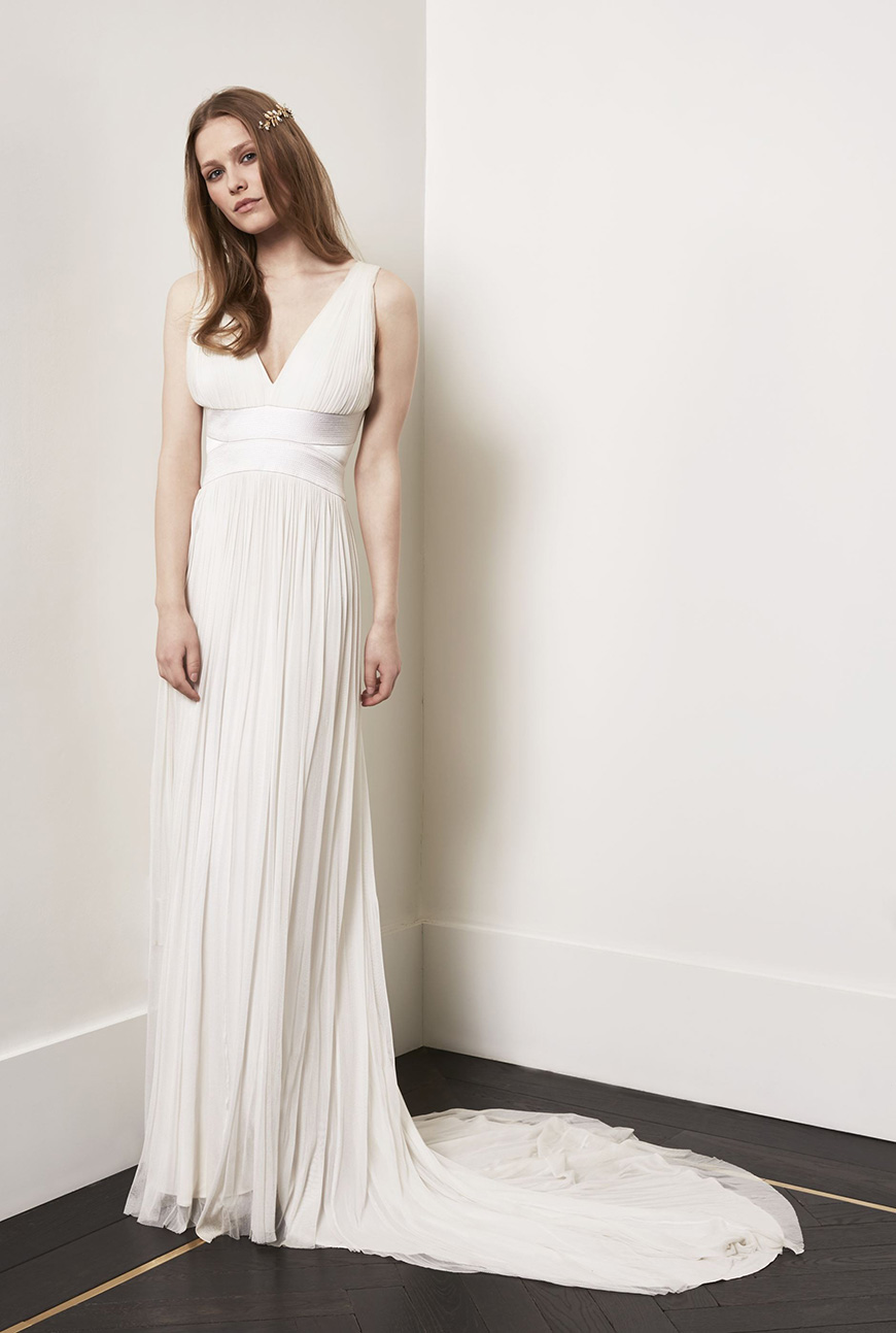 A Closer Look At Amanda Wakeley Wedding Dresses - Alexandra | CHWV