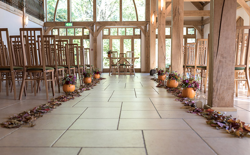 What To Look For In An Autumn Wedding Venue - Rivervale Barn | CHWV