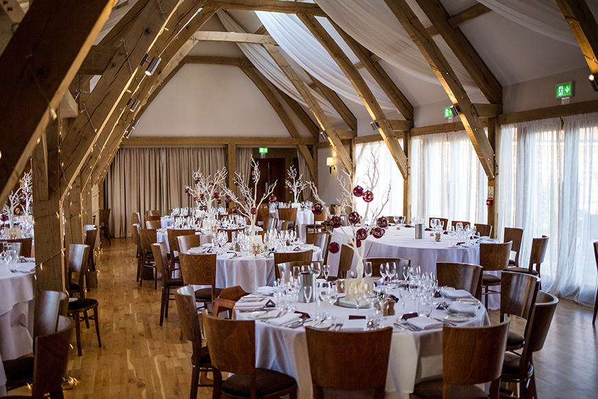 9 Wonderful Winter Wedding Venues - Bassmead Manor Barns | CHWV