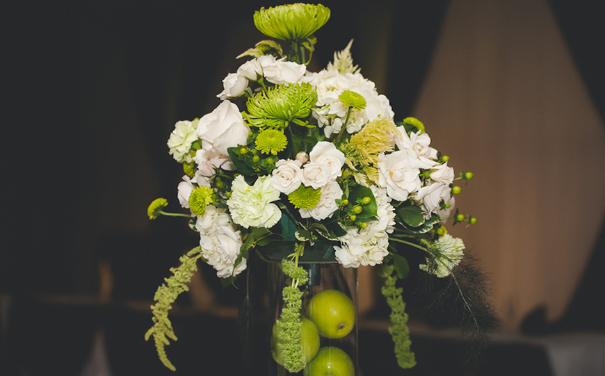 Wedding Ideas By Pantone Colour: Lime Punch - Flowers | CHWV
