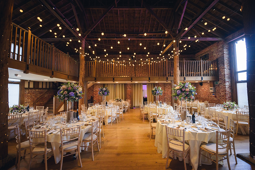 11 Barn Wedding Venues For A Rustic Wedding - Gaynes Park | CHWV