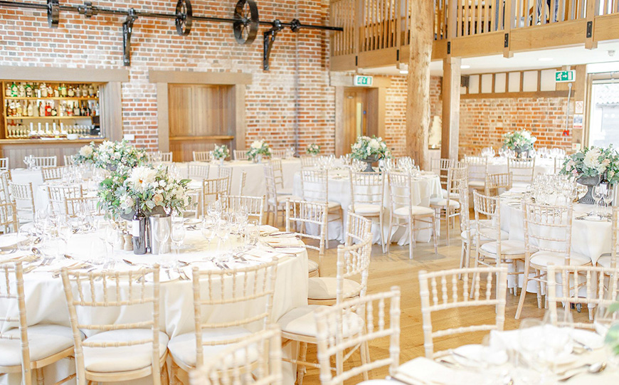 11 All-In-One Wedding Venues For The Perfect Day - Gaynes Park | CHWV