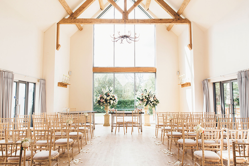 11 Barn Wedding Venues For An Autumn Wedding - Millbridge Court | CHWV