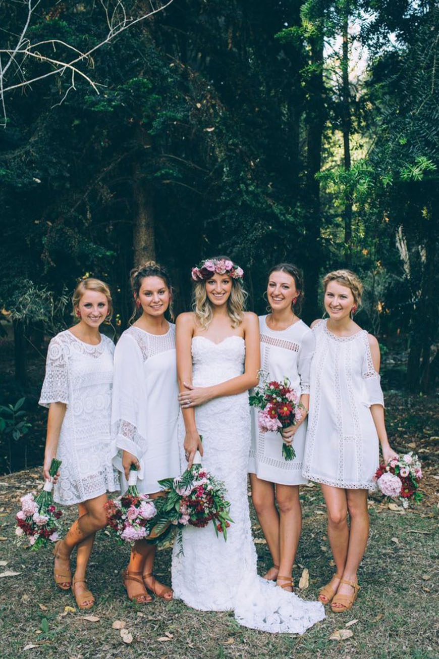 New Trends For Bridesmaid Fashion - Patterns | CHWV