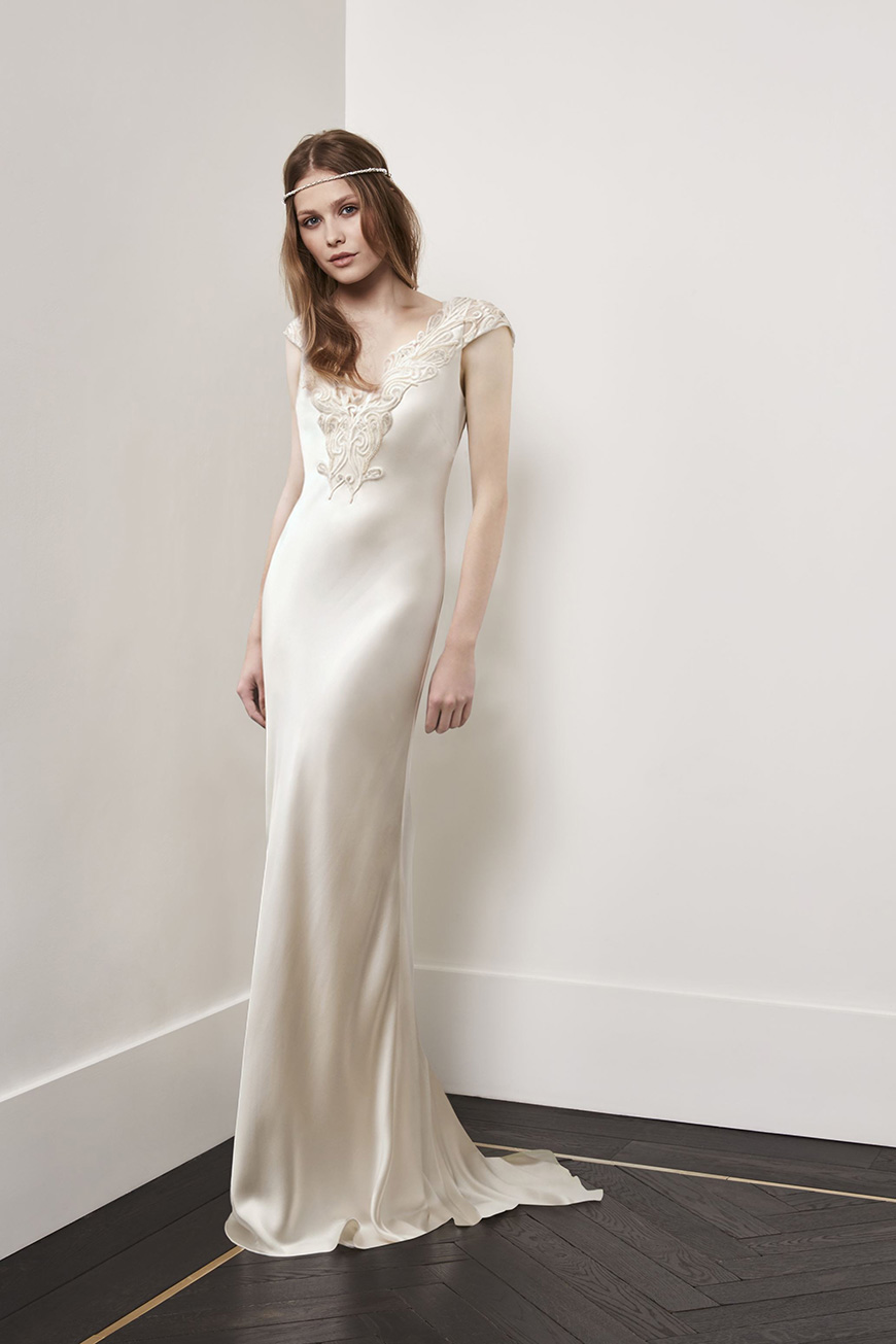 A Closer Look At Amanda Wakeley Wedding Dresses   Esme | CHWV