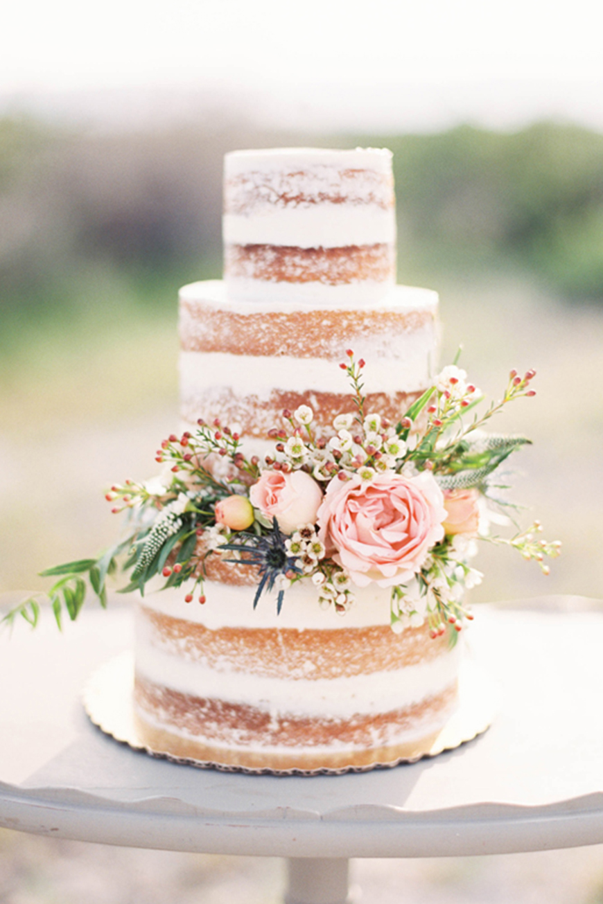 A-Z of Wedding Cakes - Naked | CHWV