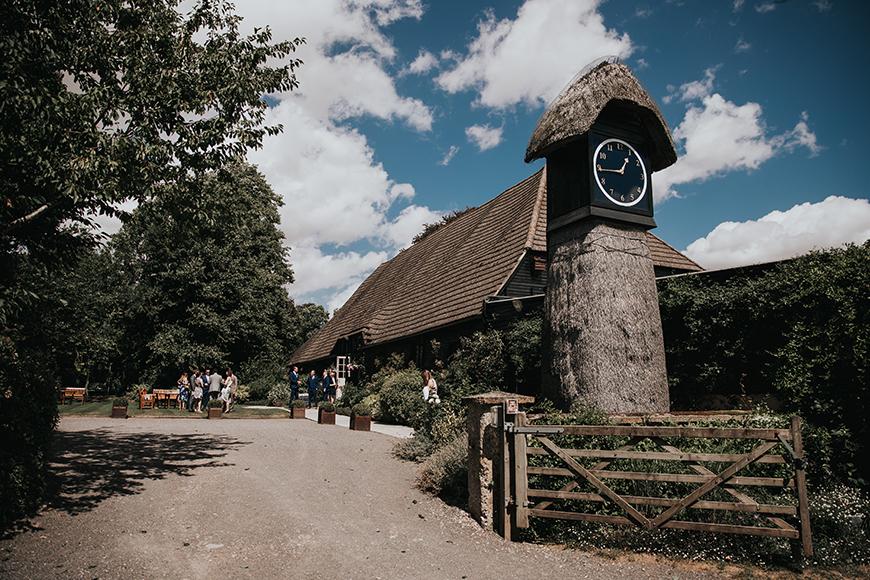 The Best Barn Wedding Venues - Clock Barn | CHWV