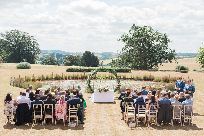 Seven Incredible Outdoor Wedding Venues - Davenport House | CHWV