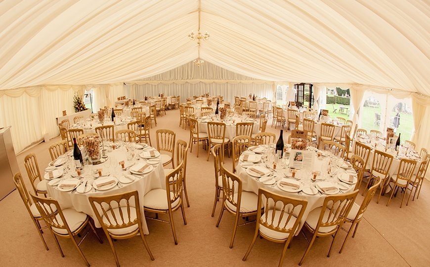 Everything You Need To Know About Marquee Wedding Venues - Slaugham Place | CHWV