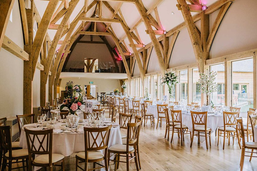 11 Unmissable Modern Wedding Venues - The Mill Barns | CHWV