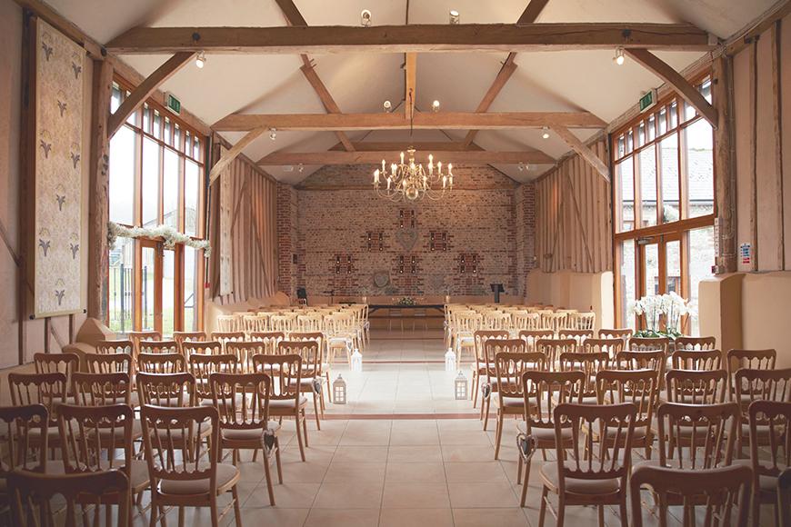 9 all-in-one wedding venues for autumn - Upwaltham Barns | CHWV
