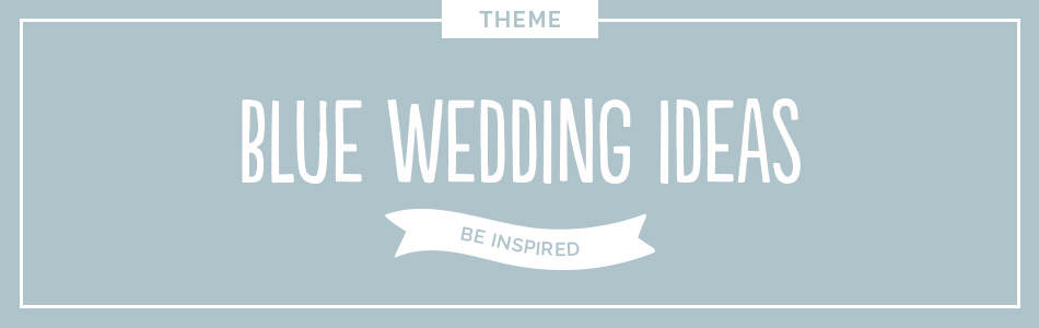 Blue wedding ideas - Be inspired | CHWV