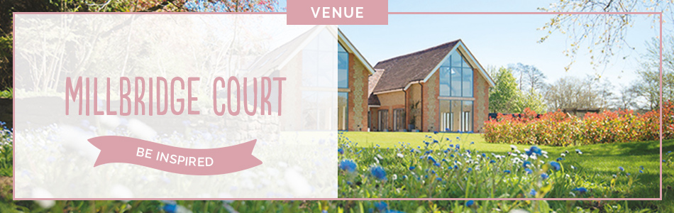 Millbridge Court wedding venue in Surrey - Be inspired | CHWV