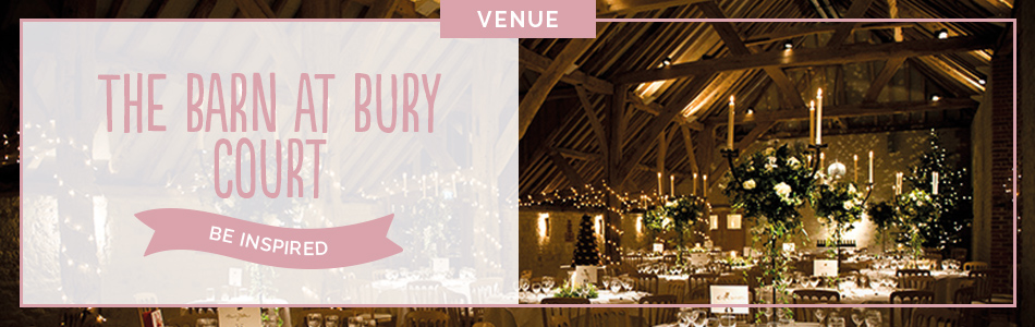 Bury Court Barn wedding venue in Surrey - Be inspired | CHWV