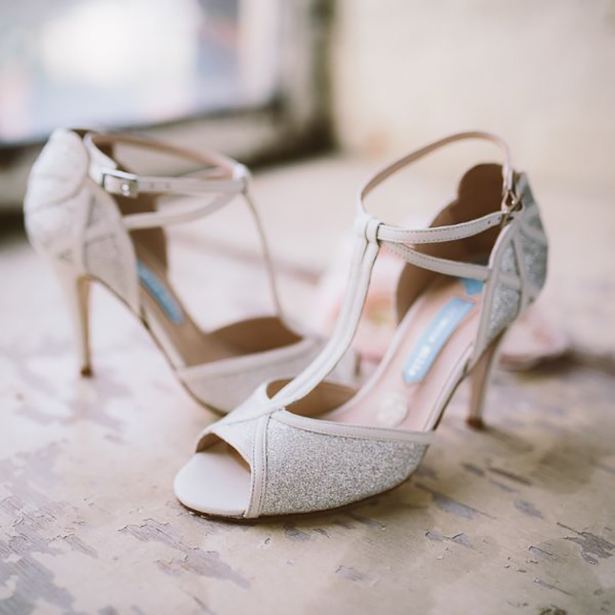 A Closer Look At Charlotte Mills Wedding Shoes | CHWV