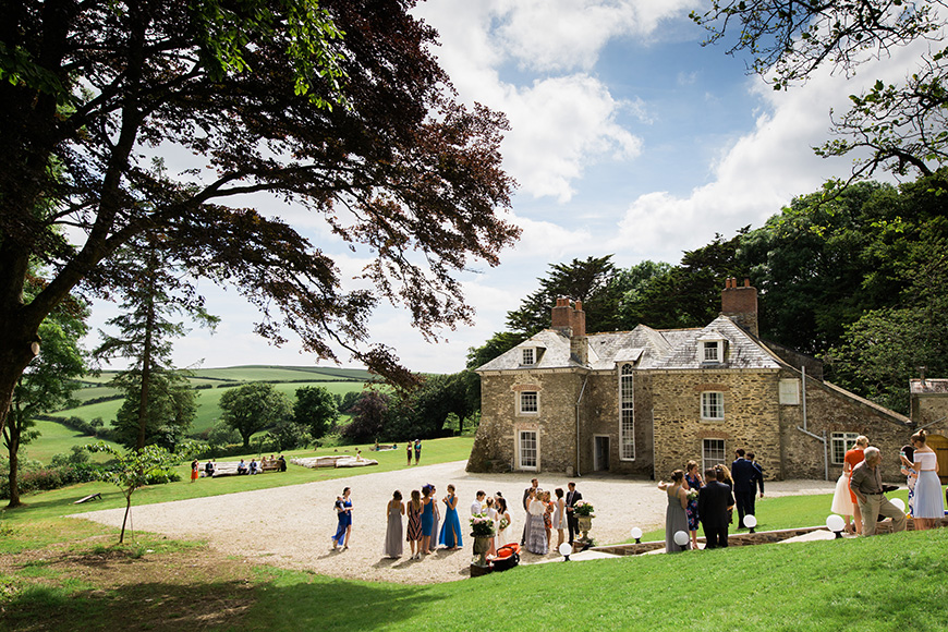 All About Tredudwell Manor in Cornwall - Sarah Lauren Photography | CHWV