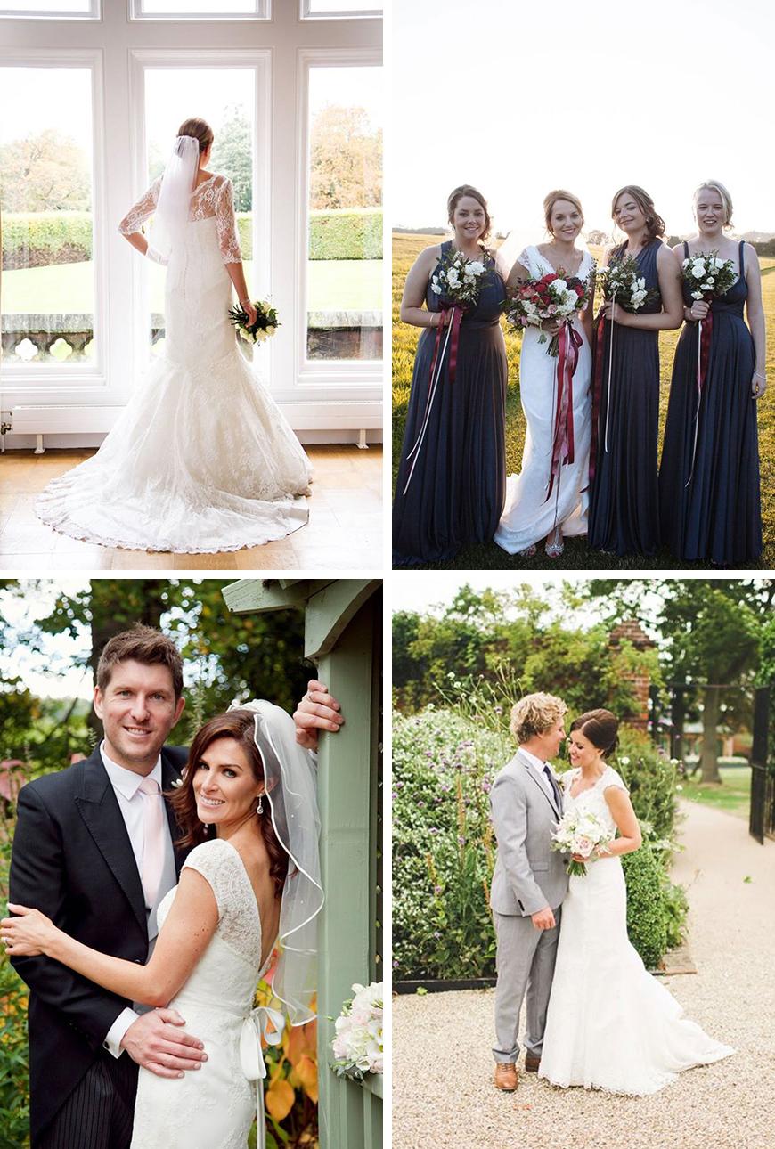 A Closer Look At Amanda Wyatt Wedding Dresses - Brides | CHWV