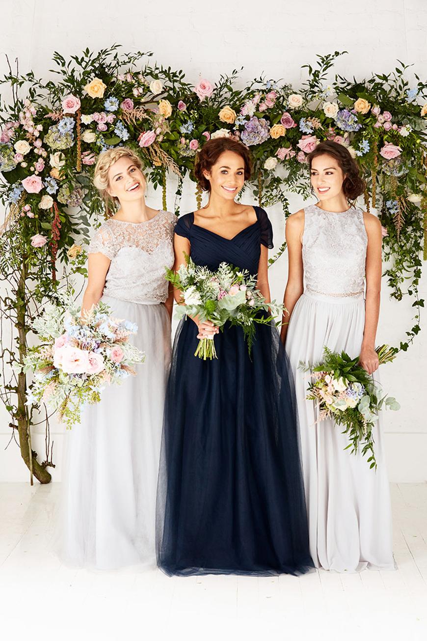 A Closer Look At Amanda Wyatt Wedding Dresses - Bridesmaids separates | CHWV