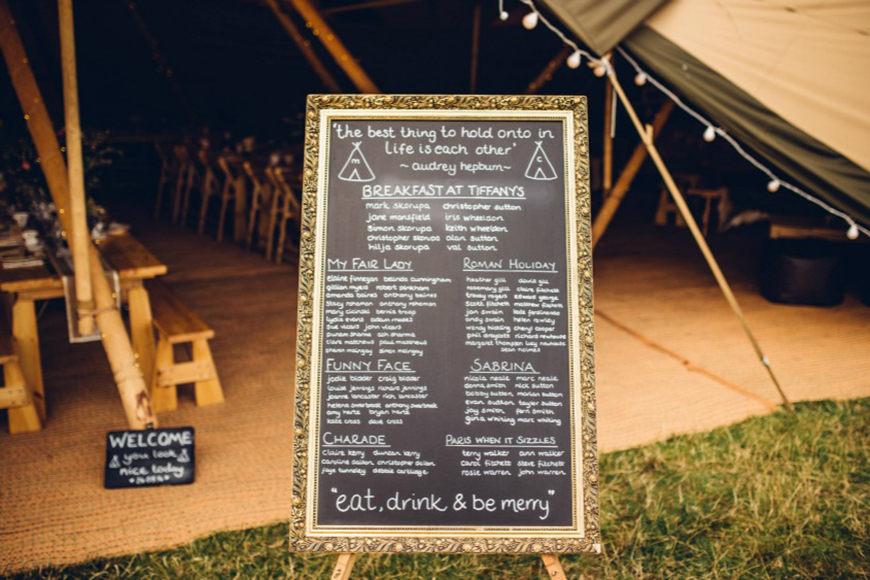 Amazing Art Deco Wedding Table Plans - And finally | CHWV