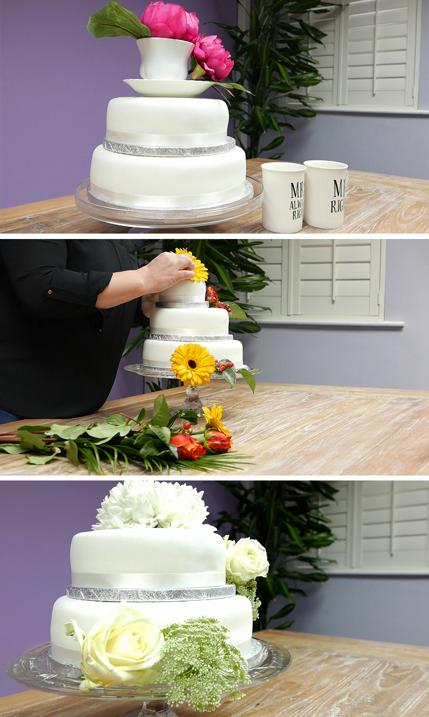 Amazing Diy Wedding Cakes For Under 163 100 Chwv