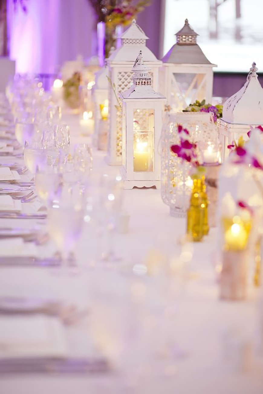 18 amazing lantern centrepiece ideas chwv for Decoration table orientale