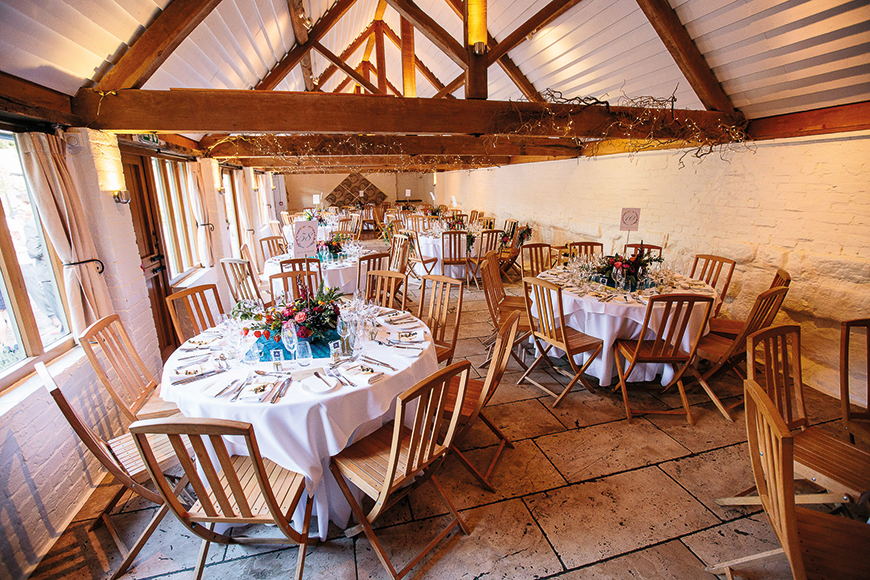 The Most Amazing Spring Wedding Venues - Curradine Barns | CHWV