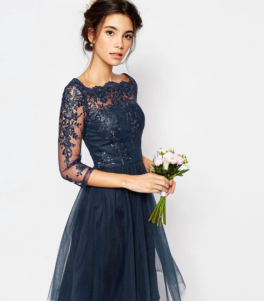 Autumn Wedding Fashion: For Your Bridesmaids - Party dress | CHWV