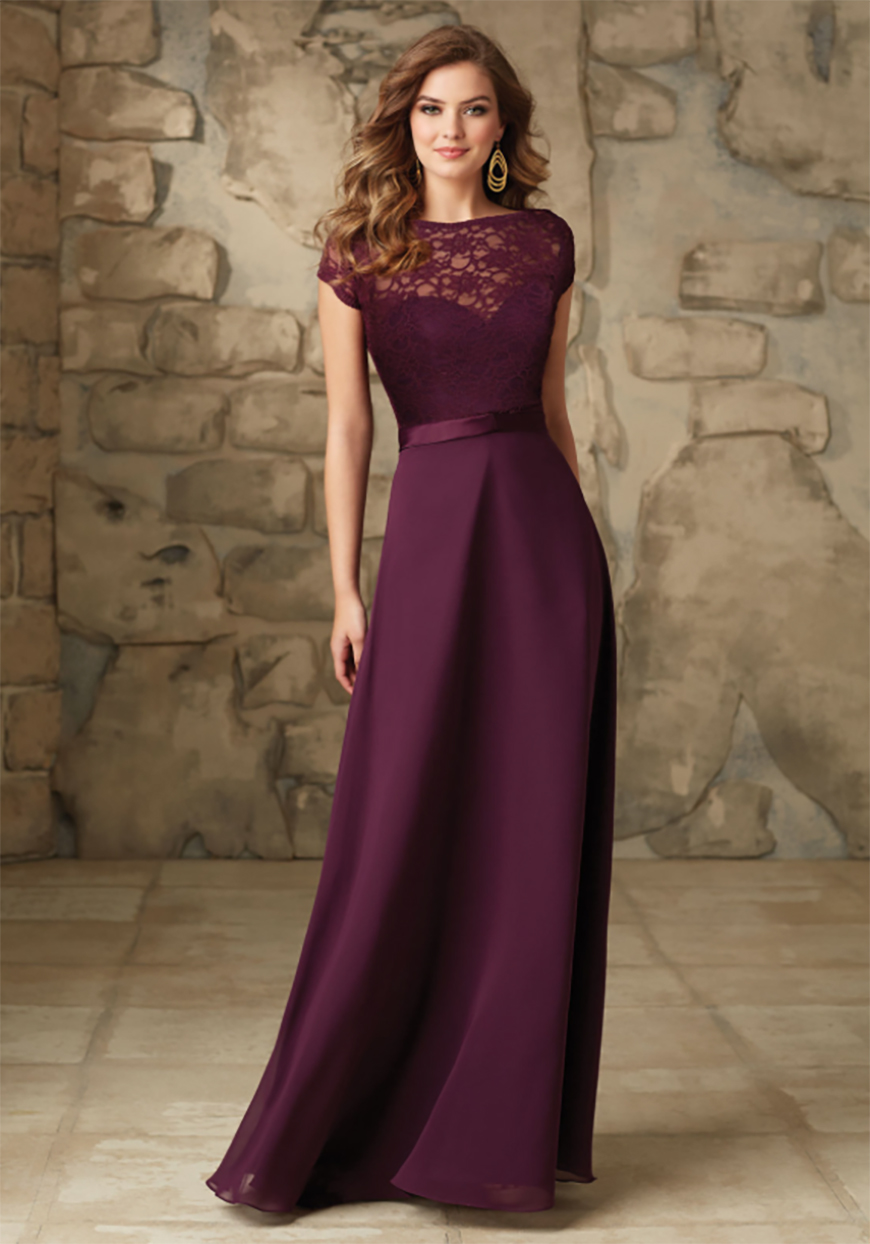 Autumn Wedding Fashion: For Your Bridesmaids - Pretty in plum | CHWV