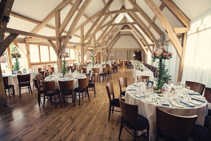 Autumn Wedding Barns - Bassmead Manor Barns | CHWV
