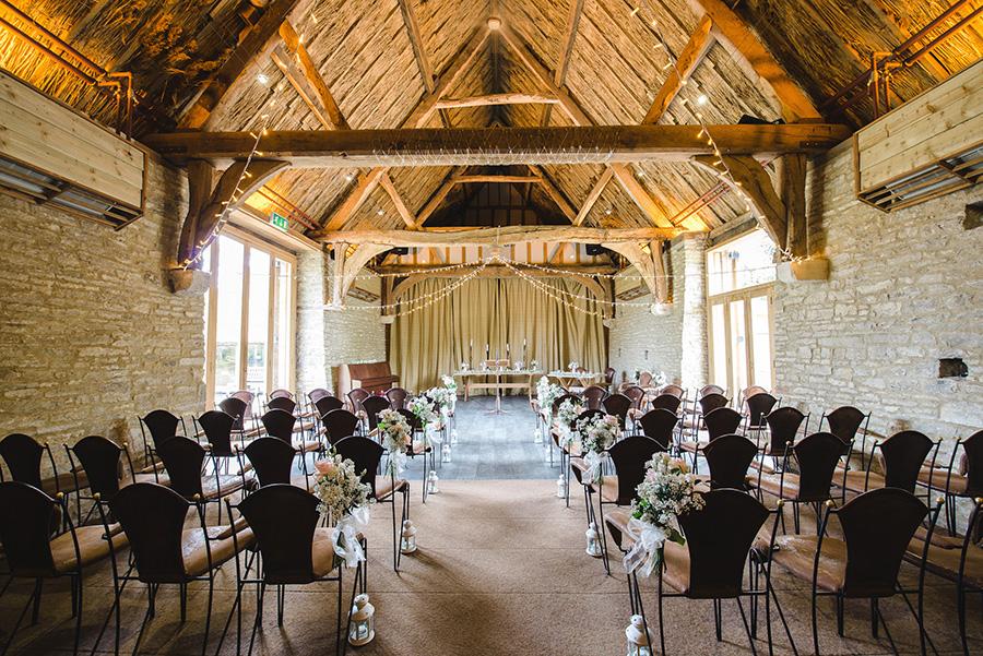 Autumn Wedding Barns - The Tythe Barn | CHWV