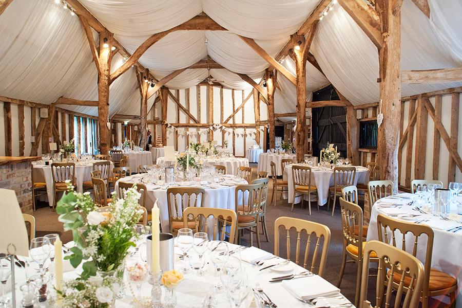 Autumn Wedding Barns - South Farm | CHWV