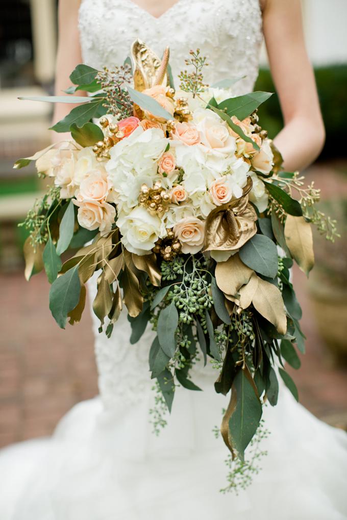 Букет невесты золотая свадьба