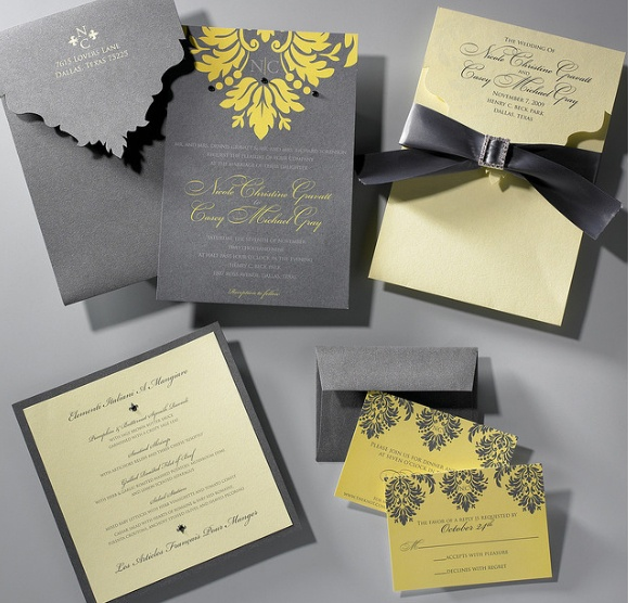 Autumnal Colour Schemes - Yellow: The Stationery | CHWV