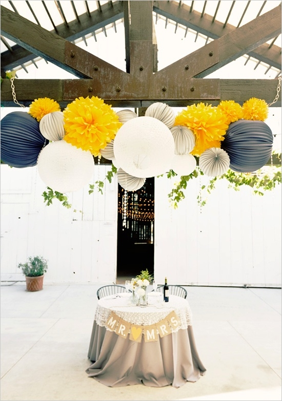 Autumnal Colour Schemes - Yellow: The Decorations | CHWV