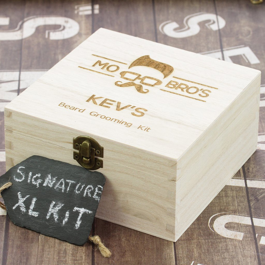 12 Awesome Gifts for the Groomsmen - Beard grooming kit | CHWV