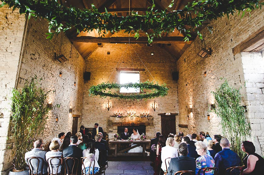 7 Barn Wedding Venues In The Cotswolds That You're Bound To Fall In Love With - Cripps Barn | CHWV