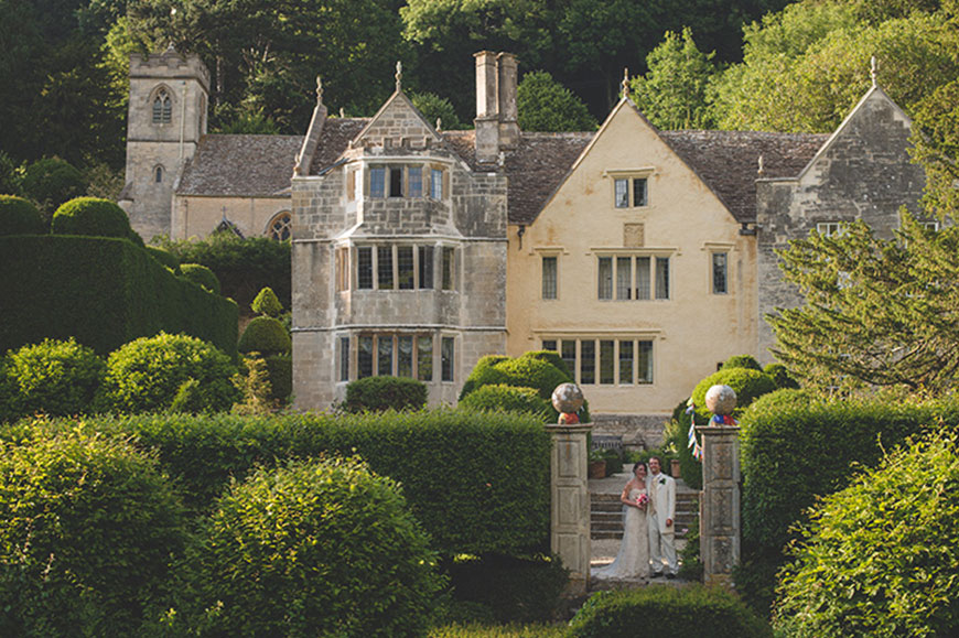 7 Barn Wedding Venues In The Cotswolds That You're Bound To Fall In Love With - Owlpen Manor   CHWV