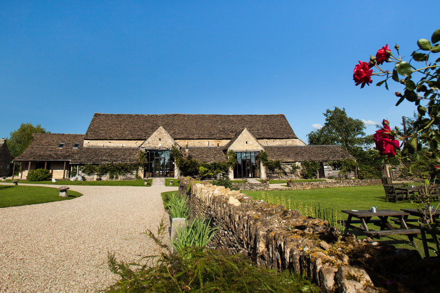 7 Barn Wedding Venues In The Cotswolds That You're Bound To Fall In Love With - The Great Tythe Barn   CHWV