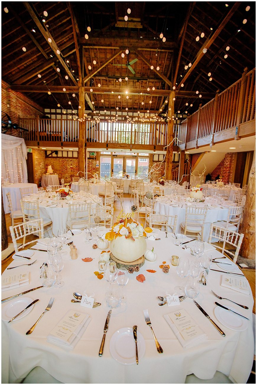 Perfect Barn Wedding Venues For Autumn