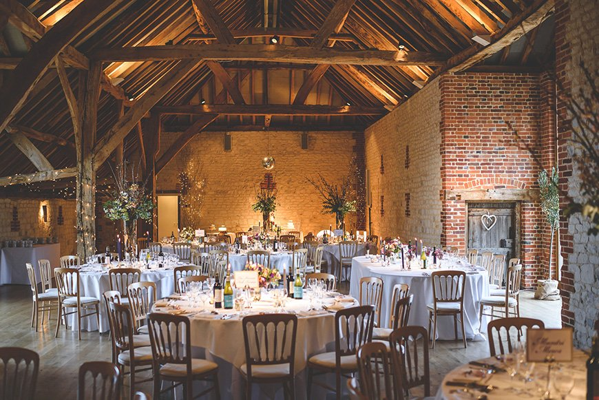 Barn wedding venues that are perfect for an autumn wedding the