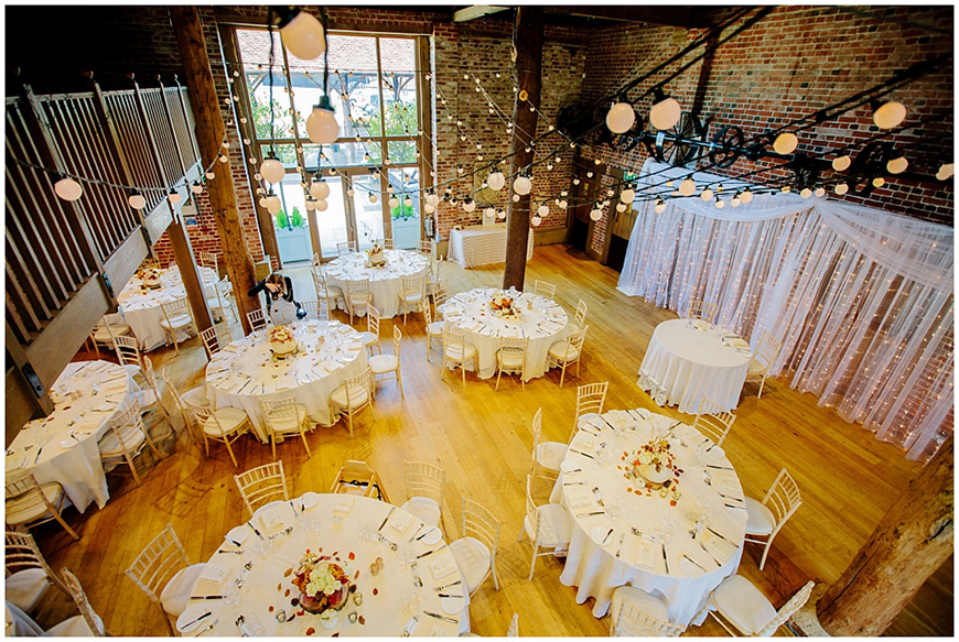 11 Beautiful Barn Wedding Venues - Gaynes Park | CHWV