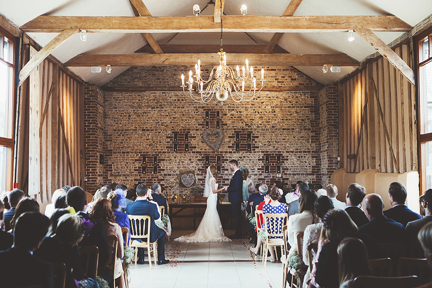 11 Beautiful Barn Wedding Venues - Upwaltham Barns | CHWV