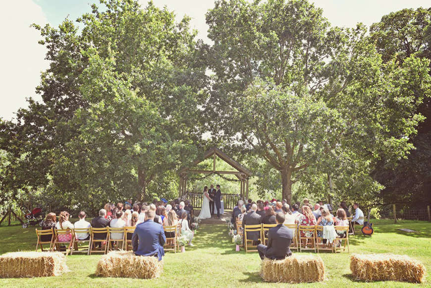 8 Beautiful Outdoor Wedding Venues In The South West - The Green | CHWV